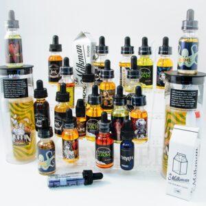 e-liquid sampler packs