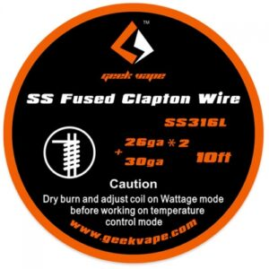 GeekVape Fused Clapton SS316 Wire