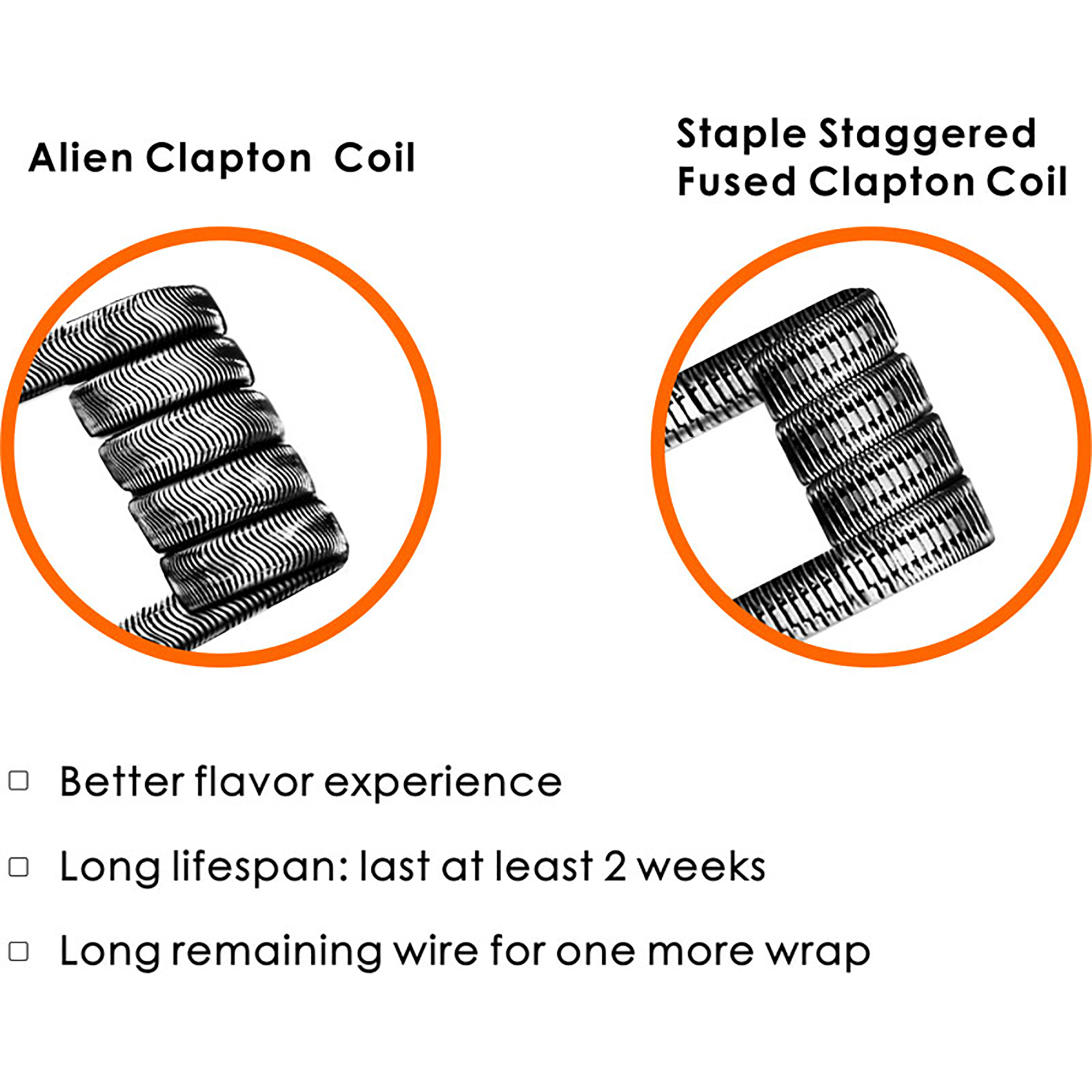alien and staggered fused clapton coils by geekvape acevaper. Black Bedroom Furniture Sets. Home Design Ideas