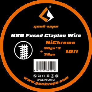 Geekvape-N80-Fused-Clapton-Wire-NiChrome