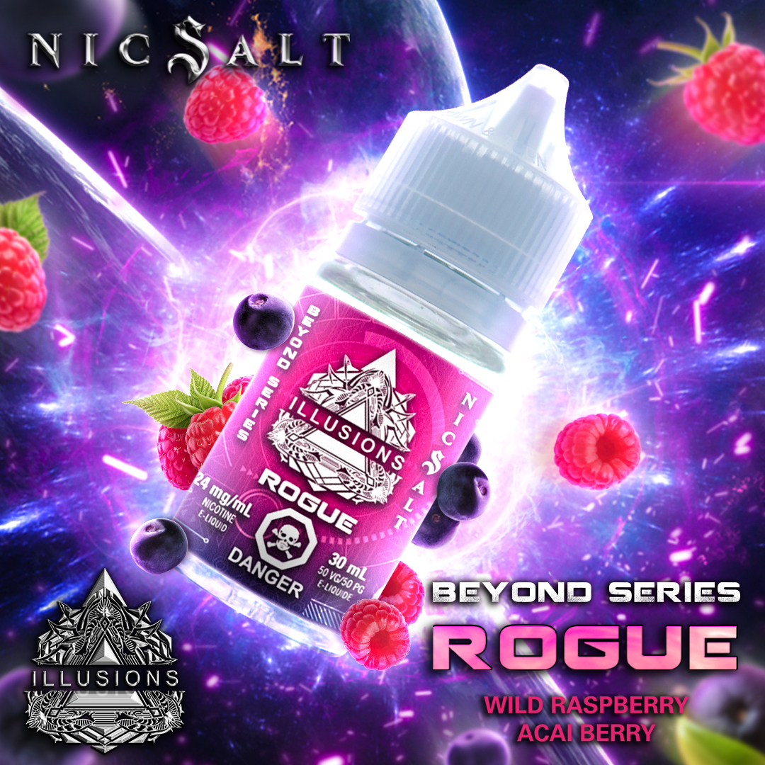 Rogue by Illusions Salts E-Juice